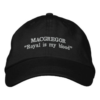 MacGregor Clan Motto Embroidered Hat