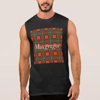 Macgregor clan Plaid Scottish tartan Sleeveless Shirt