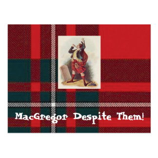 MacGregor Despite Them Postcards! Postcard