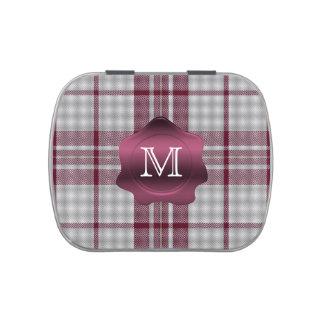 MacGregor Dress Tartan Plaid Custom Monogram