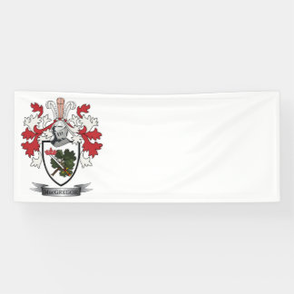 MacGregor Family Crest Coat of Arms Banner