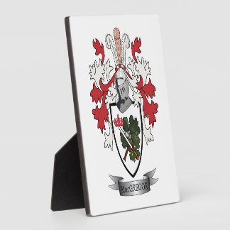 MacGregor Family Crest Coat of Arms Plaque