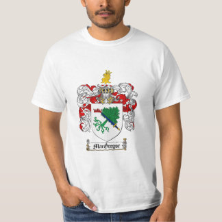 Macgregor Family Crest - Macgregor Coat of Arms T-Shirt