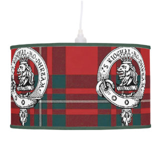 MacGregor Lamp Clan Badge and Tartan