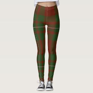 MacGregor Tartan Clan Plaid Leggings