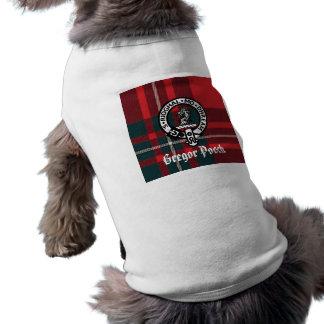 MacGregorPlaid, Gregor Badge, Gregor Pooch Shirt