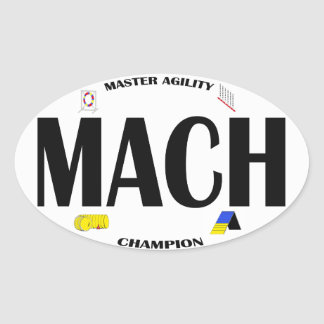 MACH Agility sticker