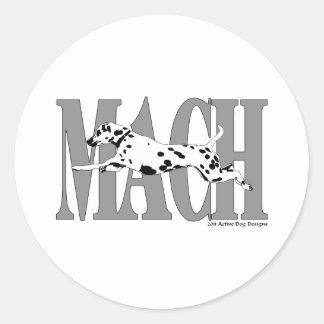 MACH Dal Classic Round Sticker
