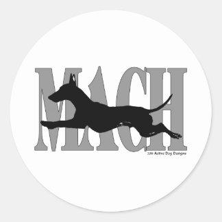 MACH Manchester Classic Round Sticker