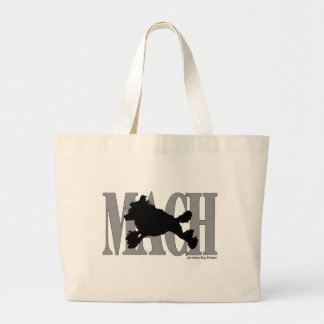 MACH Poodle Large Tote Bag