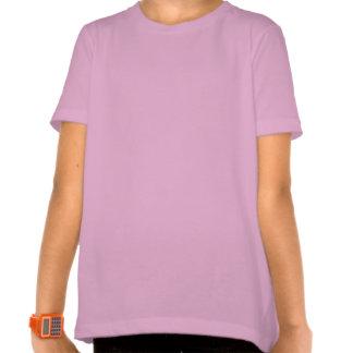 Machaon sur les fleurs roses tee shirt