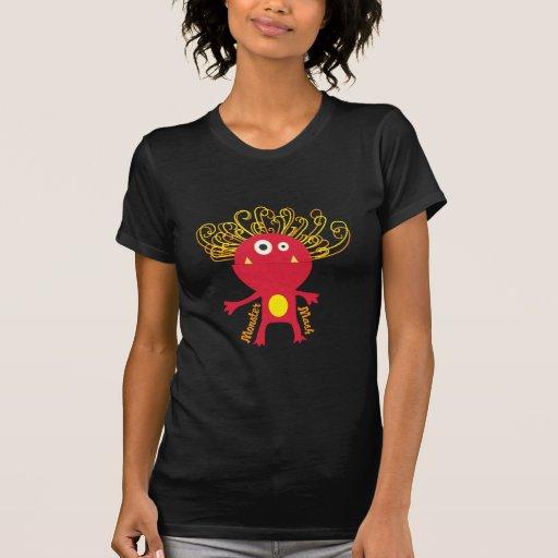 Mâche de monstre t-shirts