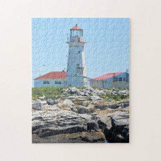 Machias Seal Island Lighthouse Jigsaw Puzzle