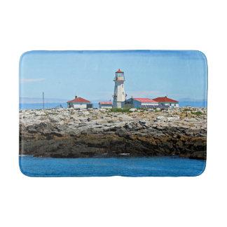 Machias Seal Island Lighthouse, New Bruns Bath Mat