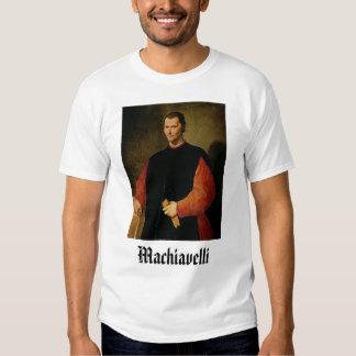 machiavelli, Machiavelli T-shirts