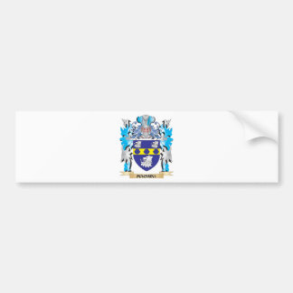 Machin Coat of Arms - Family Crest Bumper Stickers