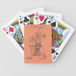 Machine for Pasting Shoes  Maria Beasley, Inventor Bicycle Playing Cards