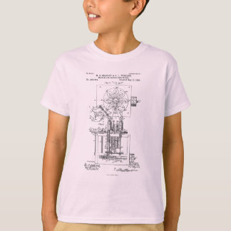 Machine for Pasting Shoes  Maria Beasley, Inventor T-Shirt