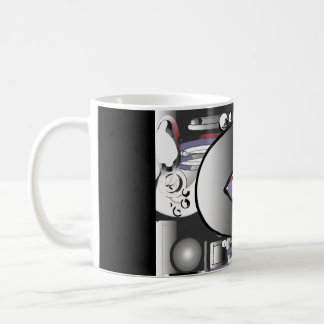 Machine gears coffee mug