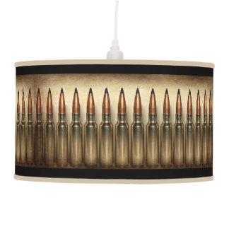 Machine Gun Bullets Pendant Lamp
