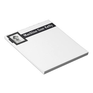 Machine Gun Kelly Notepads