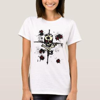 Machine Guns Bullet Skull Shirt
