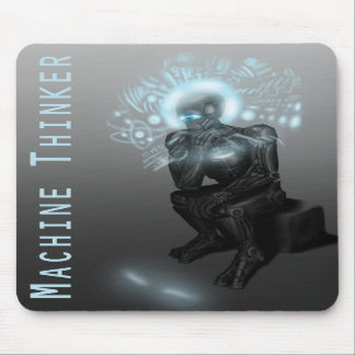 Machine Thinker Mousepad