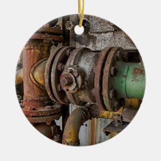 machinery ceramic ornament