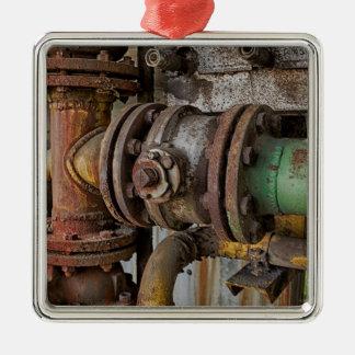 machinery metal ornament
