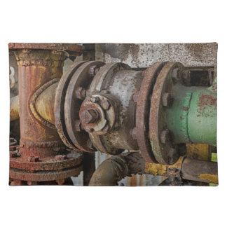 machinery placemat