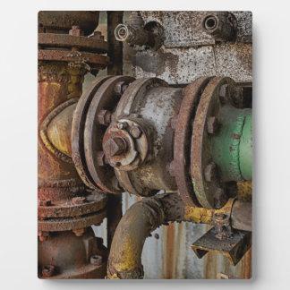 machinery plaque