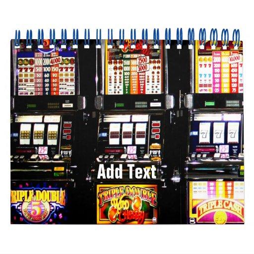 Machines à rêves de fentes de Las Vegas Calendrier