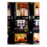 Machines à rêves de fentes de Las Vegas Cartes Postales
