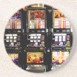 Machines à rêves de fentes de Las Vegas Dessous De Verres