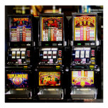 Machines à rêves de fentes de Las Vegas Posters
