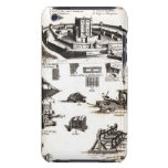 Machines of War and Castle Diagram iPod Touch Case
