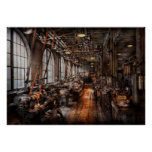 Machinist - A fully functioning machine shop Poster