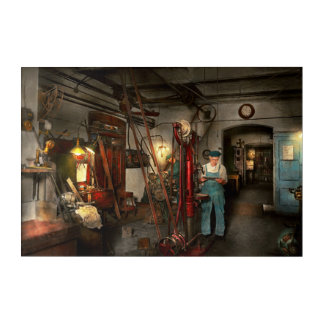 Machinist - Government approved 1919 Acrylic Print