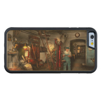 Machinist - Government approved 1919 Carved Maple iPhone 6 Bumper Case