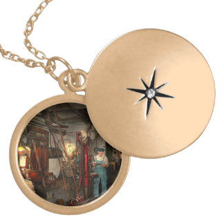 Machinist - Government approved 1919 Locket Necklace