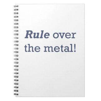 Machinist / Metal Notebooks