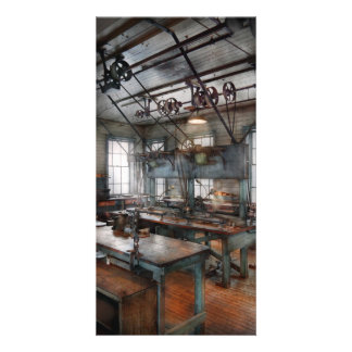 Machinist - Steampunk - The contraption room Photo Cards