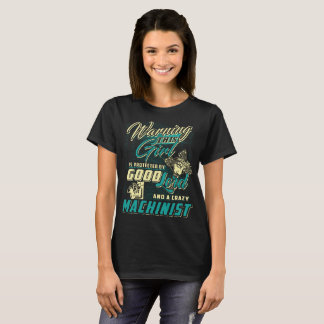 Machinist T-Shirt Nice Girl By Machinist Tee