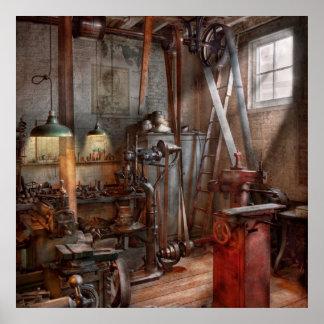 Machinist - The modern workshop Poster