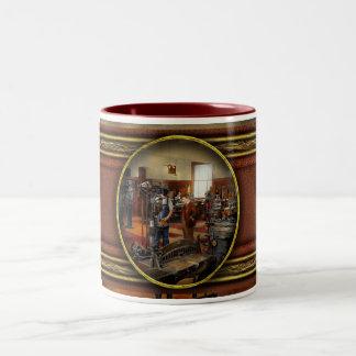 Machinist - The standard way 1915 Two-Tone Coffee Mug