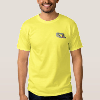 Machinist Topper Embroidered T-Shirt