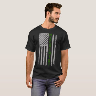 Machinist U.S. Flag T-Shirt