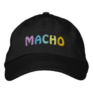 MACHO cap Embroidered Hats