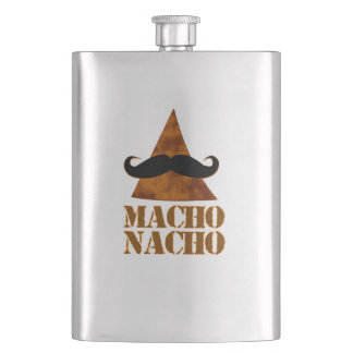 Macho Nacho Hip Flask