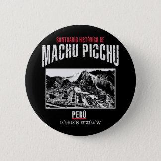 Machu Picchu 2 Inch Round Button
